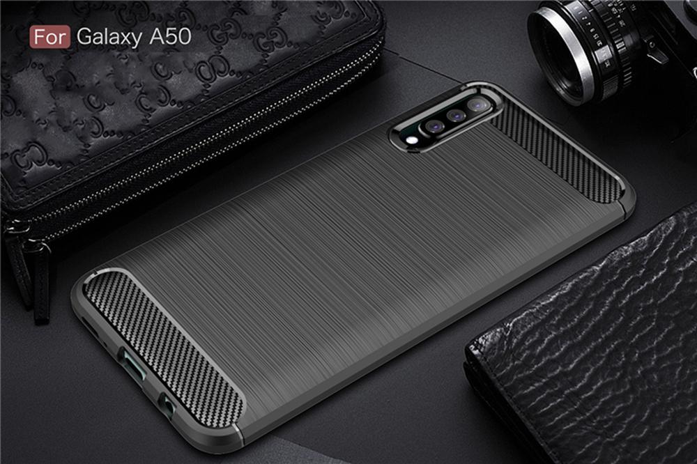 For-Samsung-Galaxy-A70-Case-A50-A30-M20-A10-Soft-Carbon-Fiber-Ultra-Slim-Cover miniature 10
